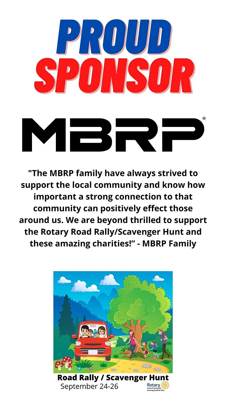 Rotary Road Rally / Scavenger Hunt image