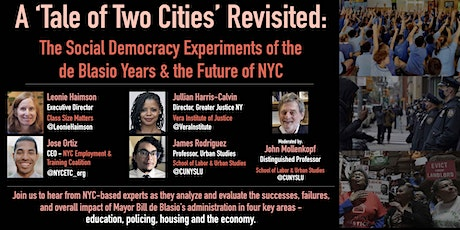 'Tale of Two Cities' Revisited: Social Democracy, de Blasio & Future of NYC tickets