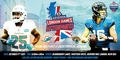 The Gridiron London Games Party tickets