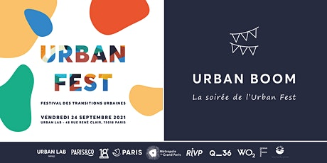 Urban Boom : la soirée de l'Urban Fest billets