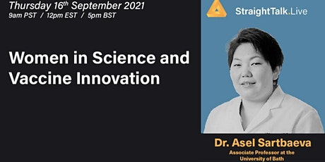 Women in Science and Vaccine Innovation tickets