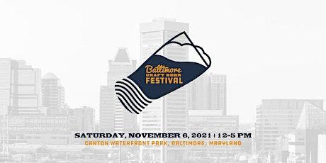 2021 Baltimore Craft Beer Festival tickets