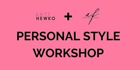 Personal Style Workshop tickets