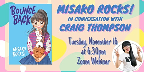 Book Launch: Misako Rocks! in conversation with Craig Thompson tickets