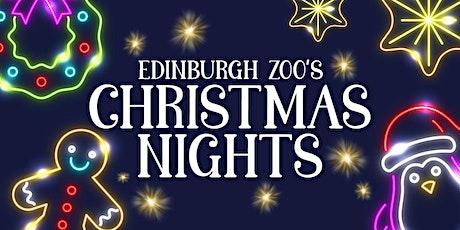Edinburgh Zoo's Christmas Nights - 19th December tickets