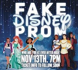Fake Disney Prom tickets