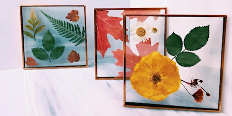 Pressed Flowers Stained Glass with Kelsie McNair tickets