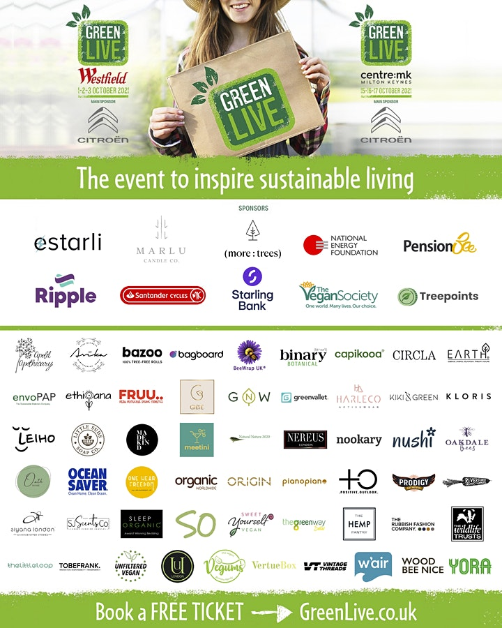 Green Live   Sustainable Living   Westfield London image