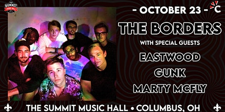 THE BORDERS at The Summit Music Hall - Saturday October 23 tickets
