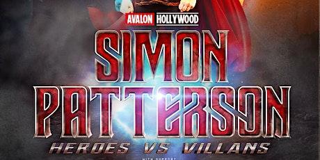 Heros & Villians Halloween w Simon Patterson & Greg Downey tickets