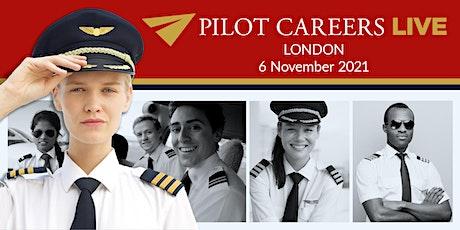 Pilot Careers Live London - 6 November  2021 tickets