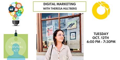Artist Survival Kit (ASK) Workshop: Digital Marketing 101 tickets