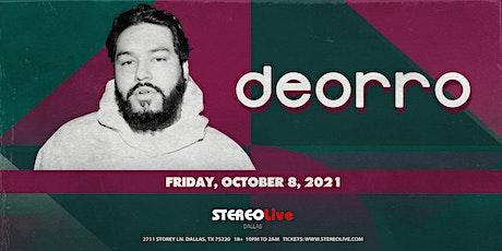 Deorro - Stereo Live Dallas tickets