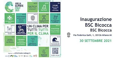Inaugurazione BSC Bicocca @BSC Bicocca - 30.09 | Urbanfile biglietti