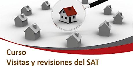 Curso Visitas y revisiones del SAT entradas