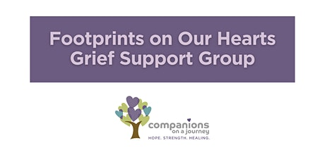 Footprints on Our Hearts | COJ Pregnancy & Infant Loss Grief Support Group tickets