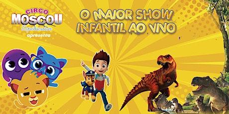 Desconto para O Maior Festival do Brasil no Circo Moscou ingressos