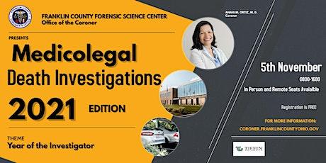 Medicolegal Death Investigations Conference tickets