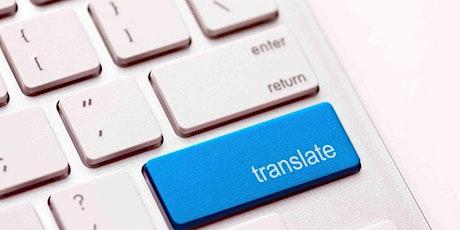 Translation workshop - taller sobre el oficio del traductor entradas