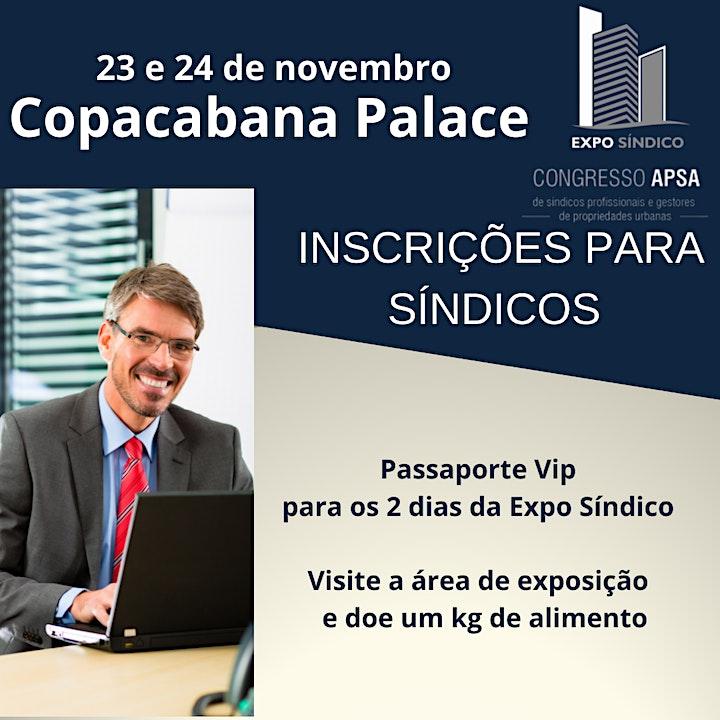 Imagem do evento EXPO SÍNDICO COPACABANA PALACE - CONGRESSO APSA