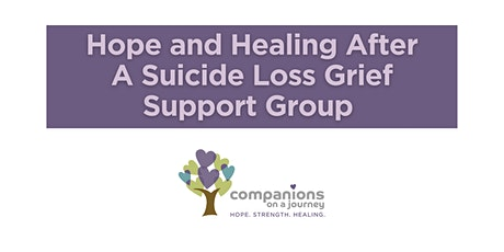 Hope and Healing after a Suicide Loss | COJ Grief Support Group tickets