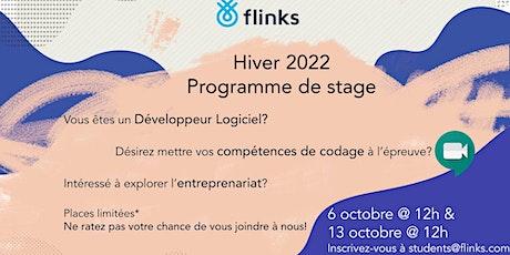 Café virtuel avec Flinks billets