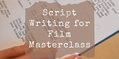 Screenwriting with Julianne White tickets