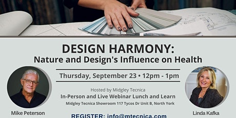 Design Harmony: Nature and Design's Influence on Health tickets