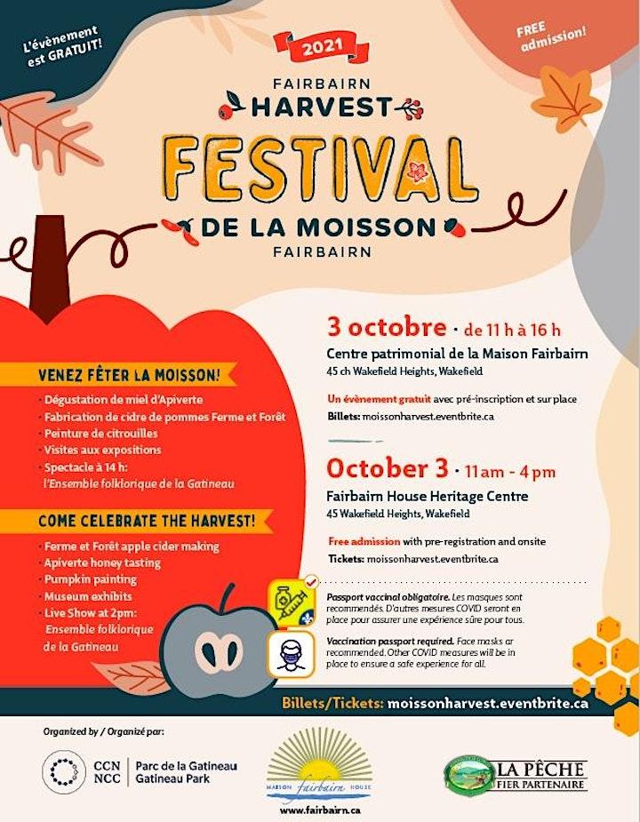 FESTIVAL DE LA MOISSON/FAIRBAIRN HARVEST FESTIVAL image