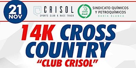 "14K CROSS COUNTRY ""Club CRISOL"" Autodromo de Bahia entradas"