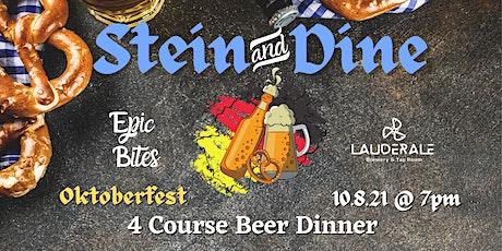 Stein & Dine Oktoberfest Beer Dinner tickets