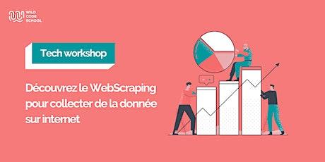 Tech Workshop - WebScraping : collecter de la donnée sur internet tickets