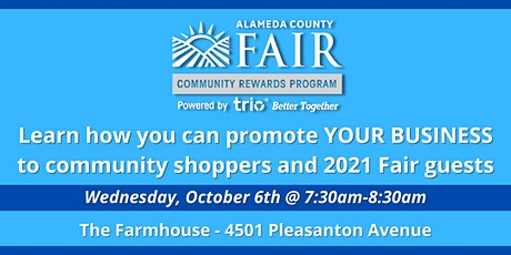 Alameda County Fair + Trio - Networking Event tickets