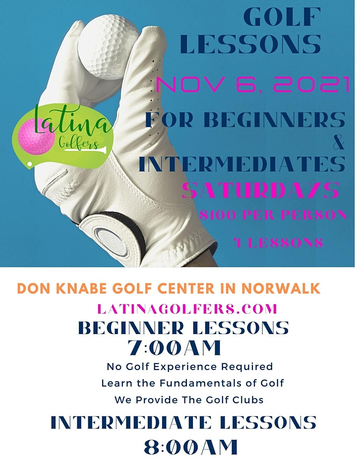 Beginner and Intermediate Golf Lessons image
