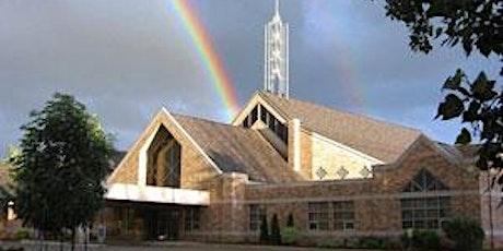 Sunday Morning Worship Service 10 AM; Geerlinks baptism; Communion tickets