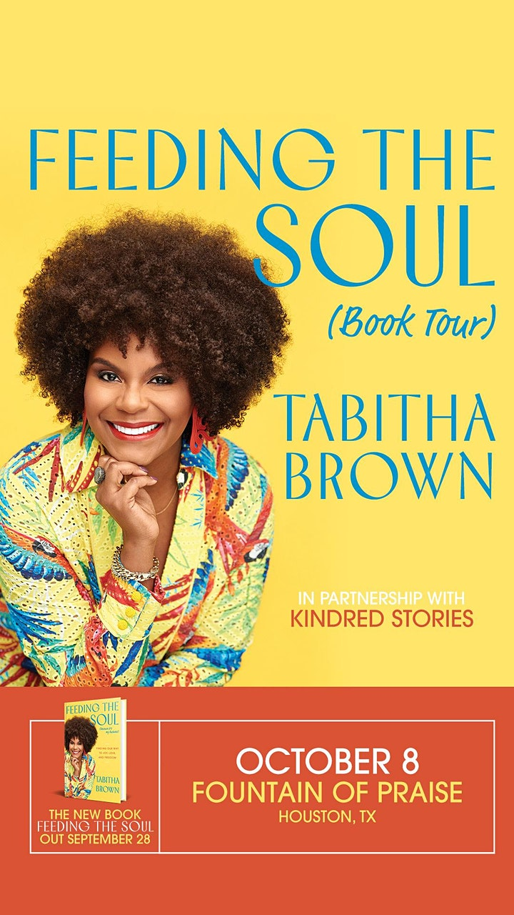 Author Talk: Feeding the Soul (Because It's My Business) with Tabitha Brown image