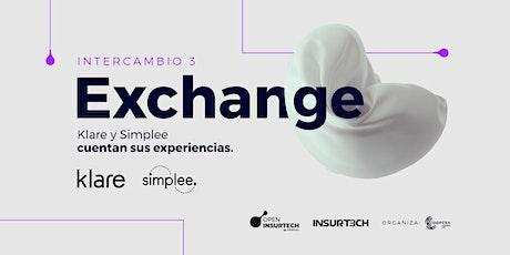 Exchange: Ciclo de Intercambios entre las mejores Insurtechs del mundo entradas