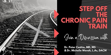 Step Off The Chronic Pain Train tickets