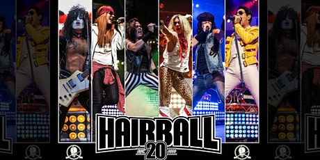 N.Y.E with HAIRBALL w/ guest ARENA tickets