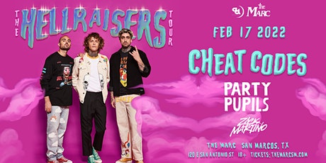 2.17 | CHEAT CODES | THE MARC | SAN MARCOS, TX tickets