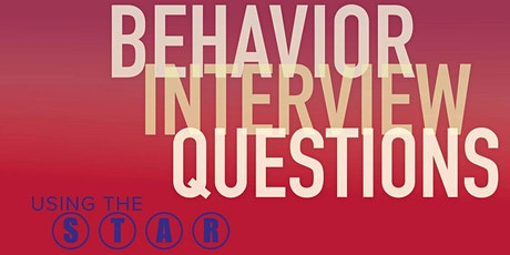 Behavioral Interview Questions [STAR answer method } tickets