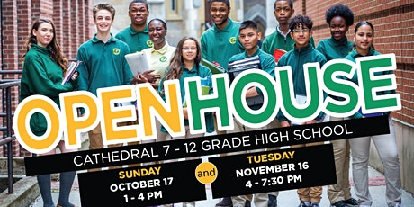 Cathedral 7-12 High School Open House tickets
