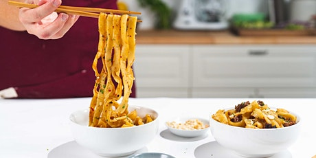 Hand Pulled Wok Fried Noodles: FREE Virtual Cooking Class tickets