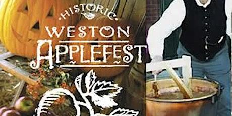 Historic Weston AppleFest Prepaid Parking Pass tickets