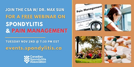Spondylitis & Pain Management tickets