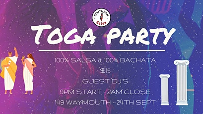 Salsa y Bachata Toga Party! tickets