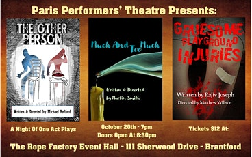 Paris Performers' Theatre Presents: A Night Of One Act Plays tickets
