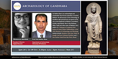 ARCHAEOLOGY OF GANDHARA tickets