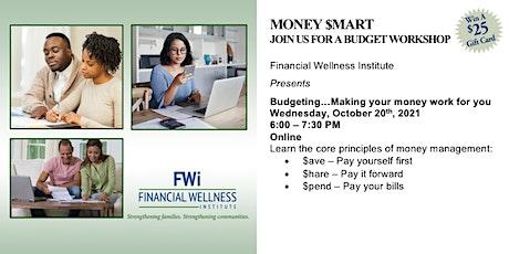 October 20th FWI Money $mart Budgeting Workshop tickets