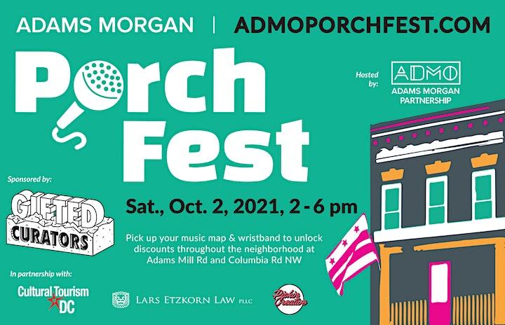 Adams Morgan PorchFest image